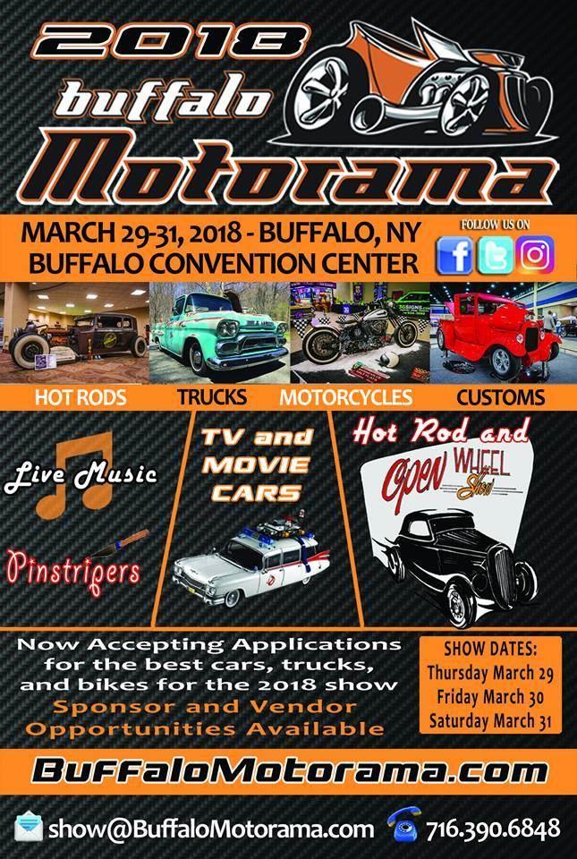 Buffalo Convention Center Car Show